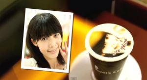 Lets Cafe personalised coffee