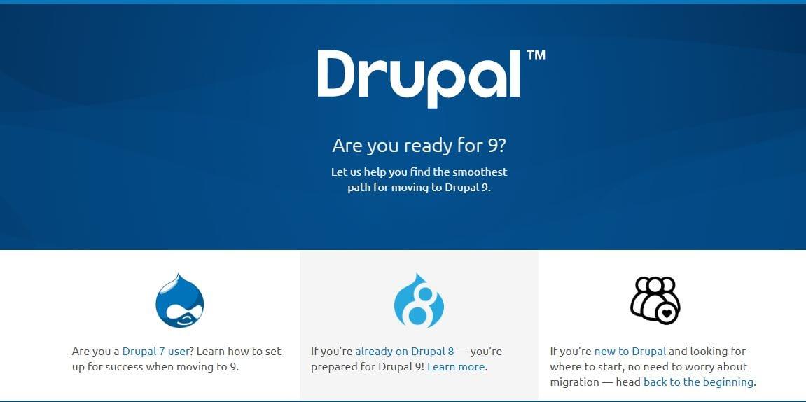 Características de Drupal