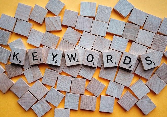 Importancia las keywords