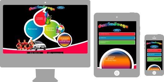 Desarrollo web a medida para sector infantil. Canta Juego