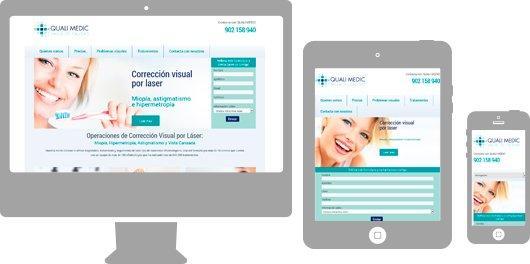 Quali Medic Web responsive