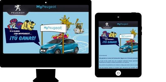 Email promocional en responsive para sector automoción. Peugeot
