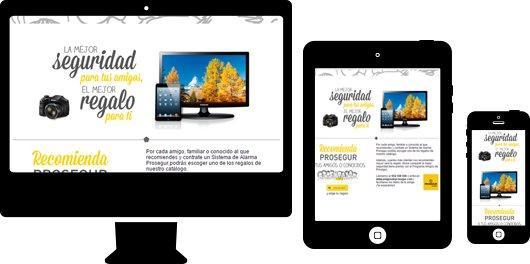 Prosegur Email en responsive design