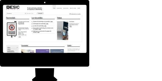 Proyecto Esic Editorial - Tienda online personalizada