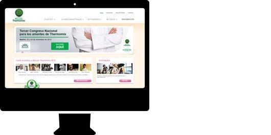 Tienda online personalizada para sector comercio. Mundo Thermomix