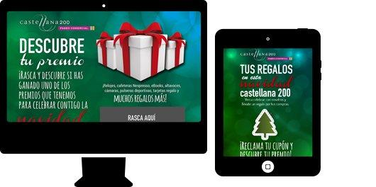 Centro comercial Castellana 200 Campaña Navidad
