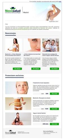 Email Marketing - Novosalud