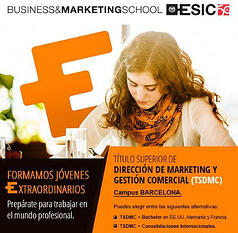 Diseño Email -Titulo superior marketing y gestión comercial