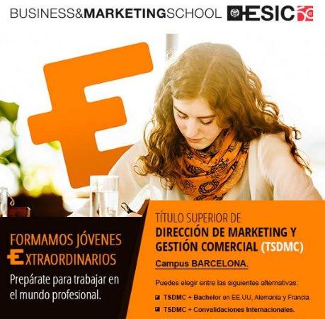 Diseño Email -Titulo superior marketing y gestión comercial