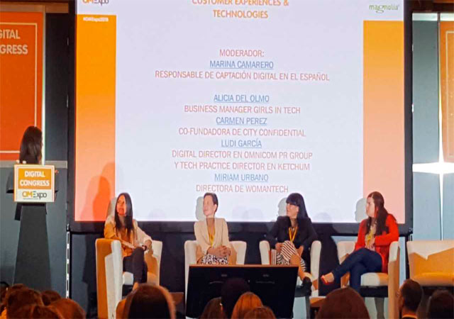 Mesa redonda Superhero Digital Women en CX