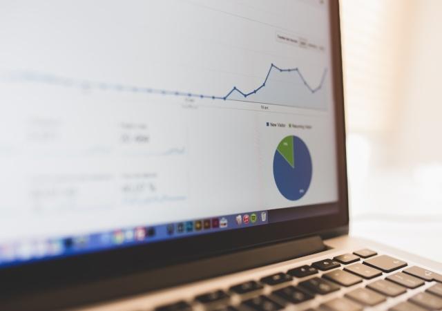Gráficos de analítica web