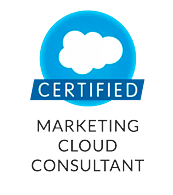 Certificado enMarketing Cloud Consultant