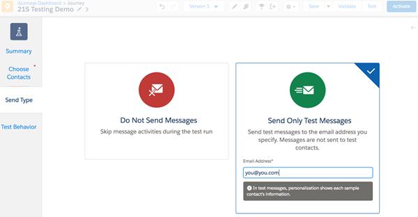 Elegir si recibir emails en Marketing Cloud