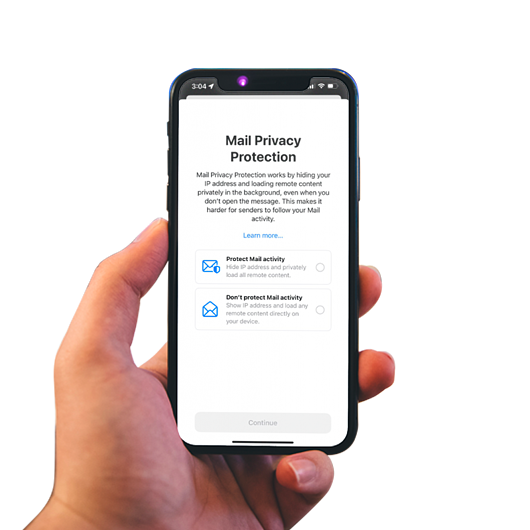 Privacy Protection de Apple Mail