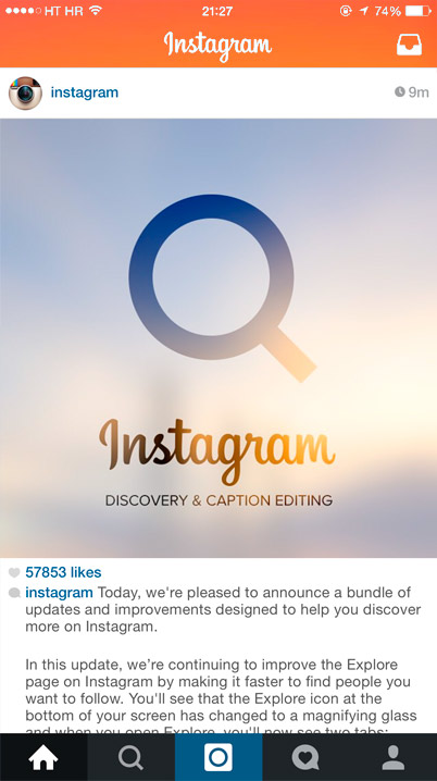 Crea contenido atractico en Instagram