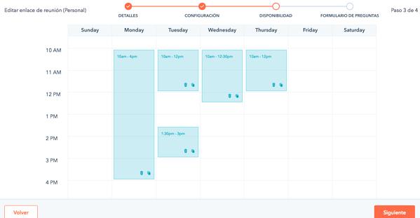 Calendario de reuniones HubSpot
