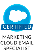 Agencia Certificada en Marketing Cloud Email Specialist
