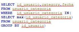 Ejemplo SQL QUERY