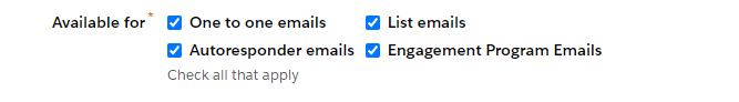 Templates de email