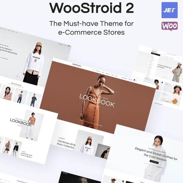 Plantilla Woocommerce WooStroid