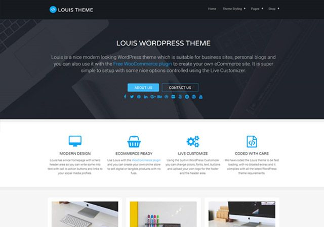 Tema WordPress Louis