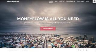 Tema WordPress MoneyFlow