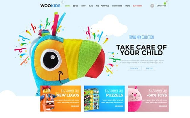 Tema WordPress WooPress