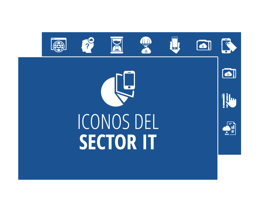 Iconos descargables del Sector IT