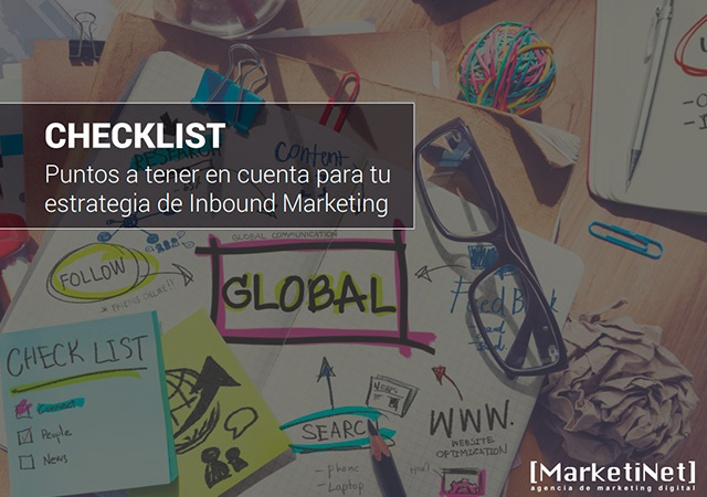 Checklist Estrategia de Inbound Marketing