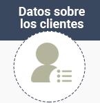 Datos sobre los clientes