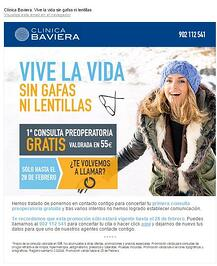 email clinica baviera