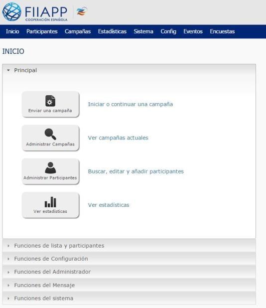 Instalación de plataforma de eMail Marketing con PHPList personalizado