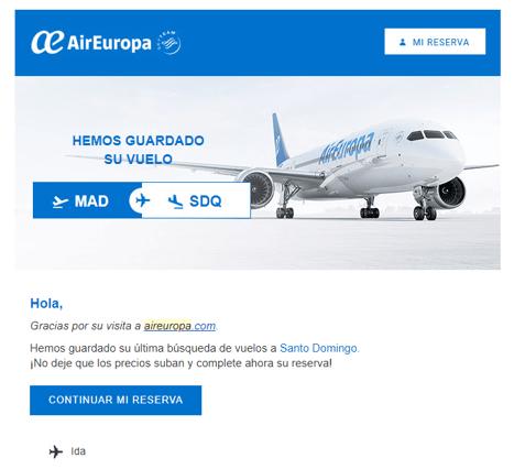 Email marketing basado en disparadores