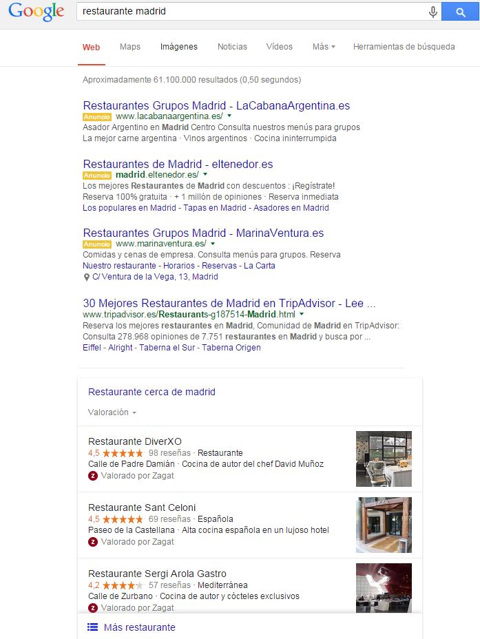 SEO con google my business