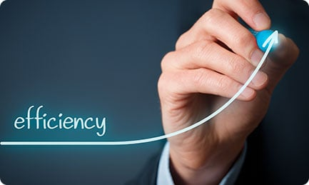 Hubspot helps you to be efficient