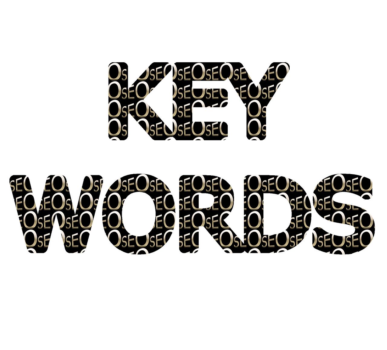que palabras claves usar en 2016