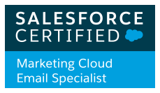 Marketing Cloud Email Specialist