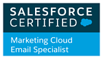 Agencia certificada en Salesforce. Marketing Cloud Email Specialist