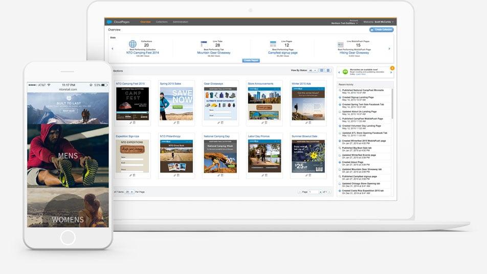 centro de suscripción personalizados de marketing cloud