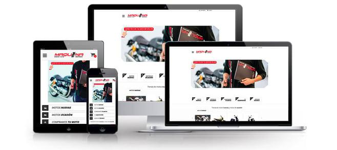 Web de Maquina Motors