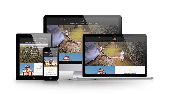 Tienda Online  con Woocommerce para sector alimentación. Hacienda Guzmán