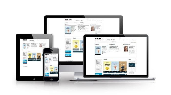 Tienda online personalizada para sector educación. Esic Editorial