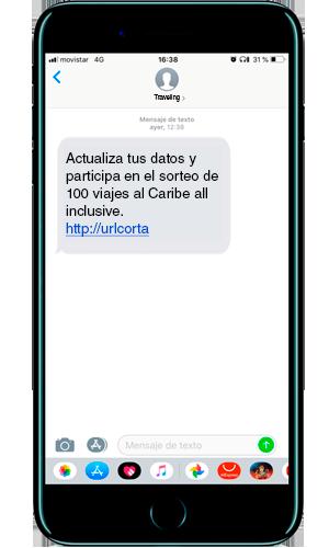 SMS de reactivación de usuarios