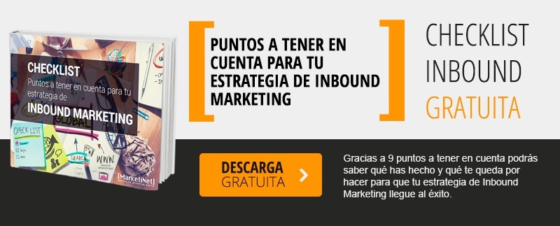 Checklist Inbound Marketing