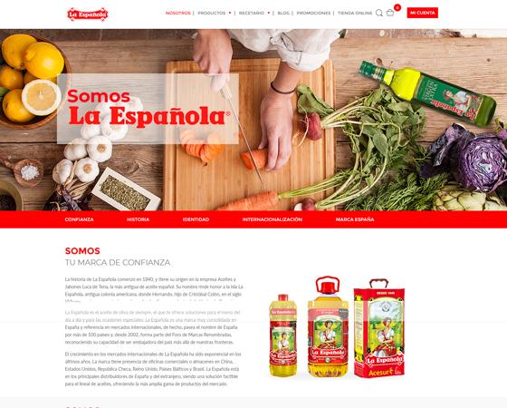 Web La Española - Nosotros