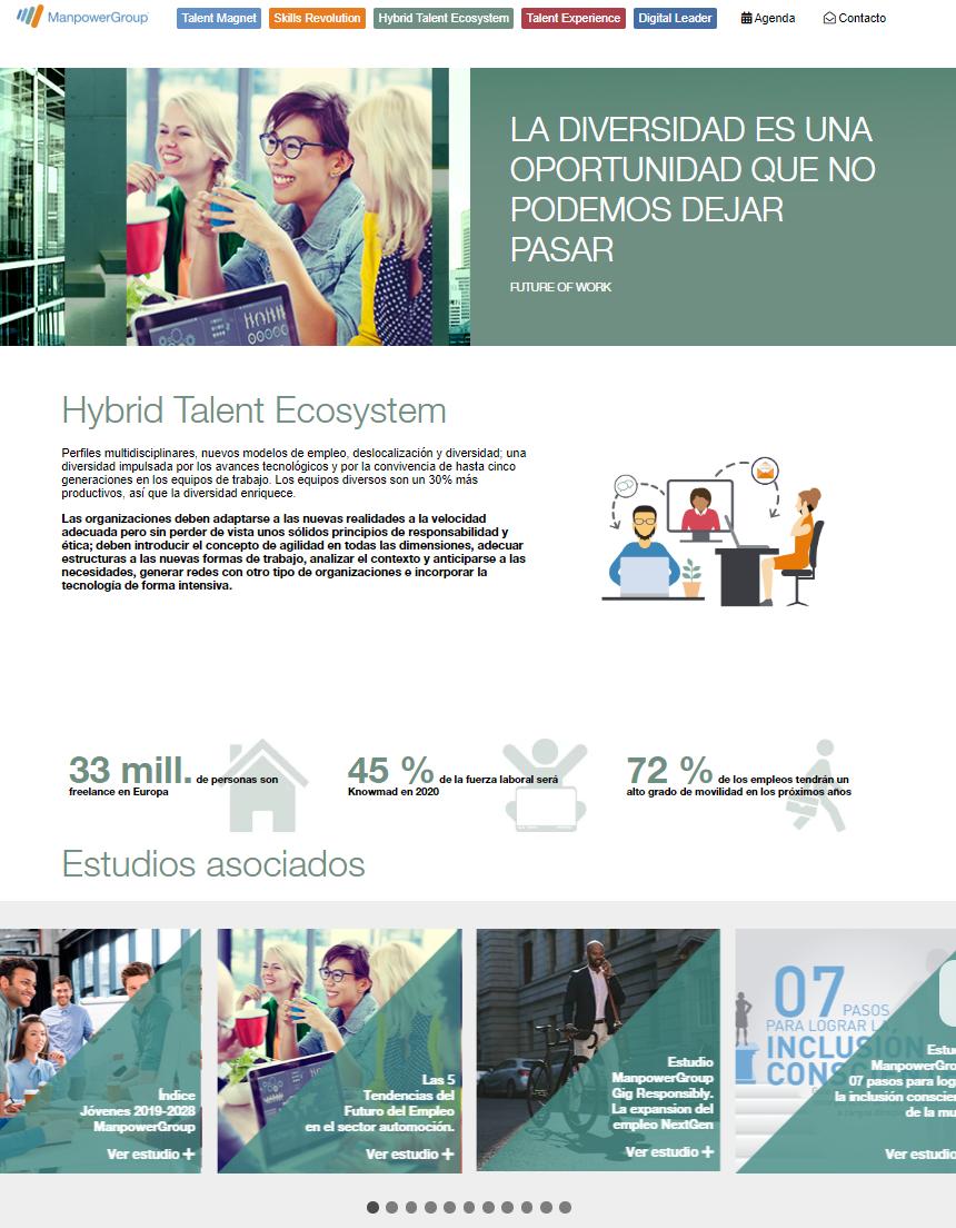 Manpower Hybrid Talent Ecosystem   Future Of Work