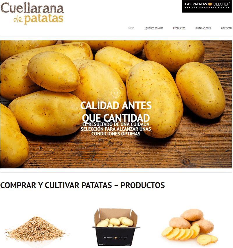 cuellarana de patatas