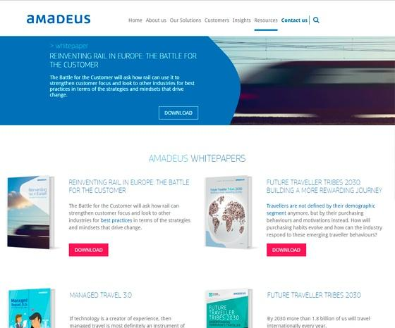 Amadeus Rail - Resources
