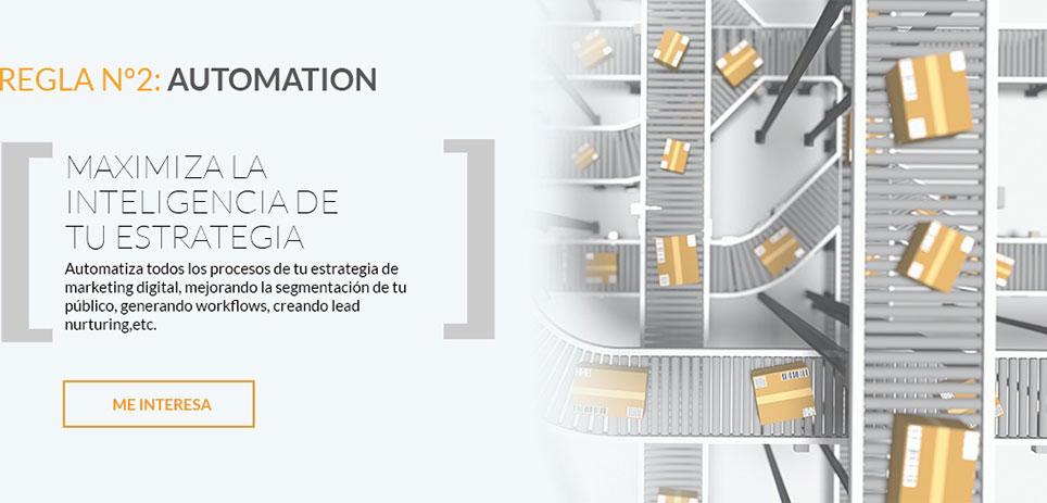 Servicio Marketing automation