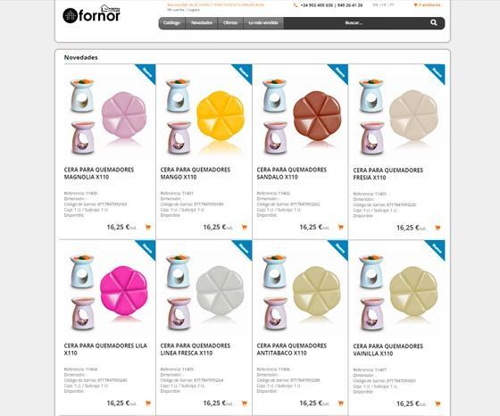Tienda Online Fornor